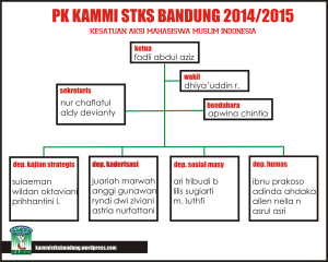Struktur organisasi KAMMI