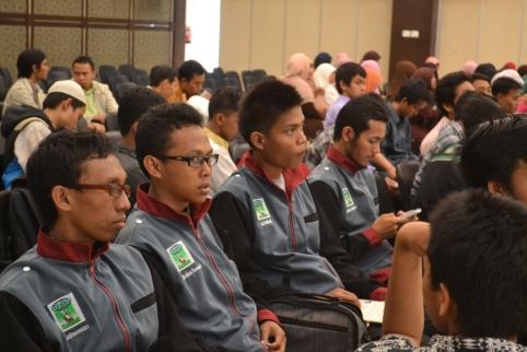 Kader KAMMI STKS Bandung di agenda Milad KAMMI ke-15 di Gedung Pertemuan Perumahan DPR RI Jaksel pada 29 Maret 2013.